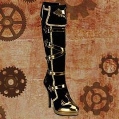 Steampunk Princess Boots