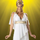 Greek Goddess Ladies Complete Costume