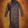 German WWII Leather Greatcoat - Brown