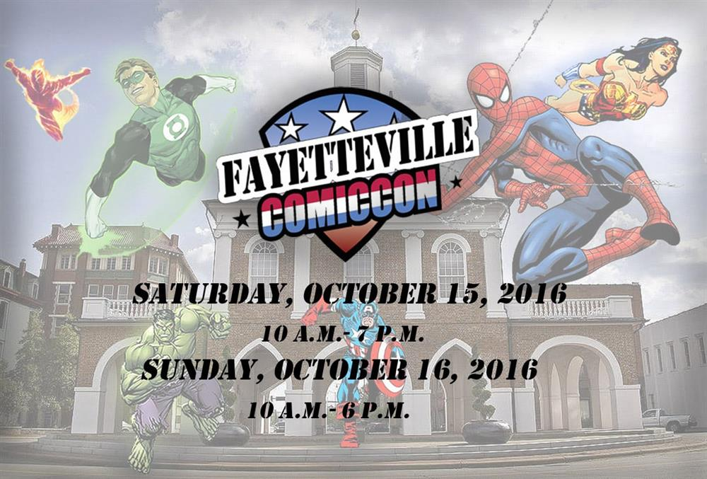 A Weekend at Fayetteville Comic Con!