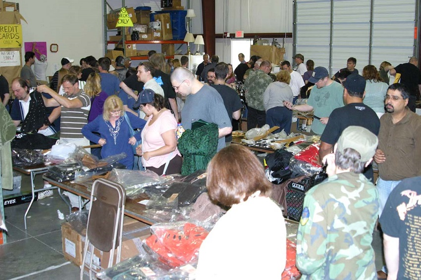 Museum Replicas Annual Warehouse Sale