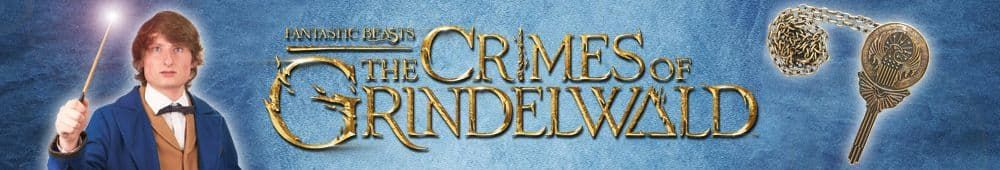 Fantastic Beasts: The Crimes of Grindelwald Costumes Wands and Props for sale