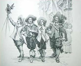 The Real Renaissance Musketeers